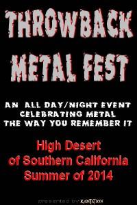 Throwback Metal Fest